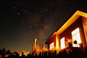 The Milky Way meets Scorpio above Copper Gate