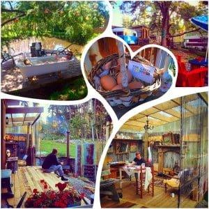 Karen Mettrick Kissing Gate glamping accommodation Mapua Nelson
